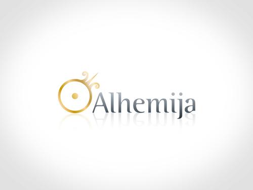 logo firme alhemija beograd logotip